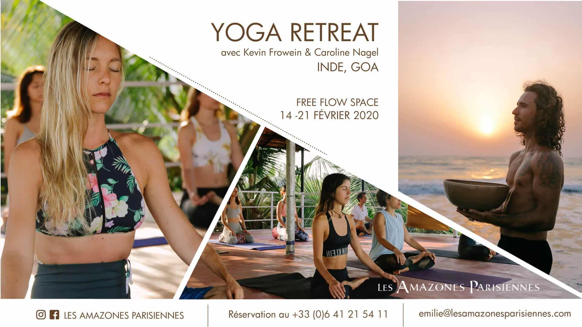 Stage Yoga pas cher Retraite Inde Goa Février 2020