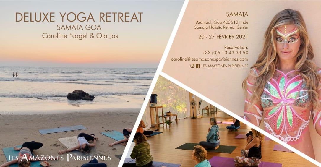 Retraite Yoga Luxe Inde Goa 20-27 Février 2021