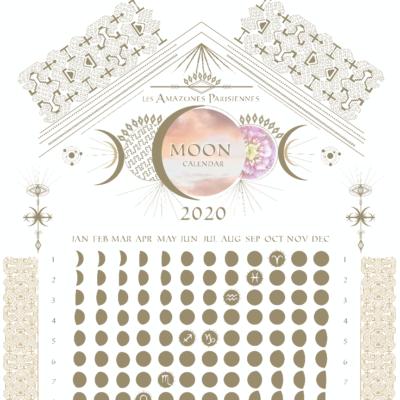 Les-Amazones-Parisiennes-Calendrier-Lunaire-MoonCalendar-2020