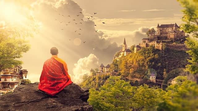 Bouddha, méditation