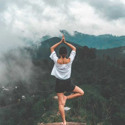 tree pose-vkrsasana-yoga